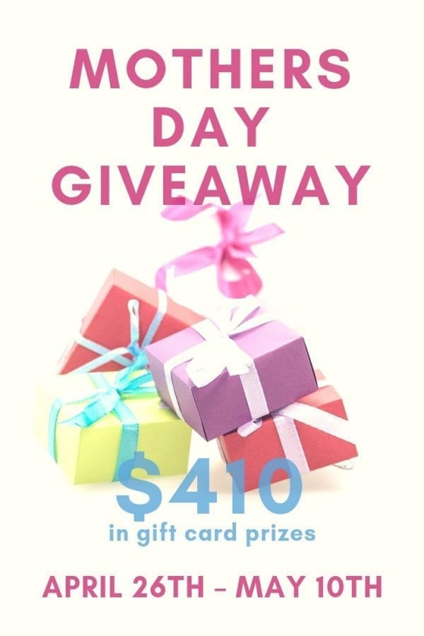 10 Mother's Day gift ideas & a giveaway!