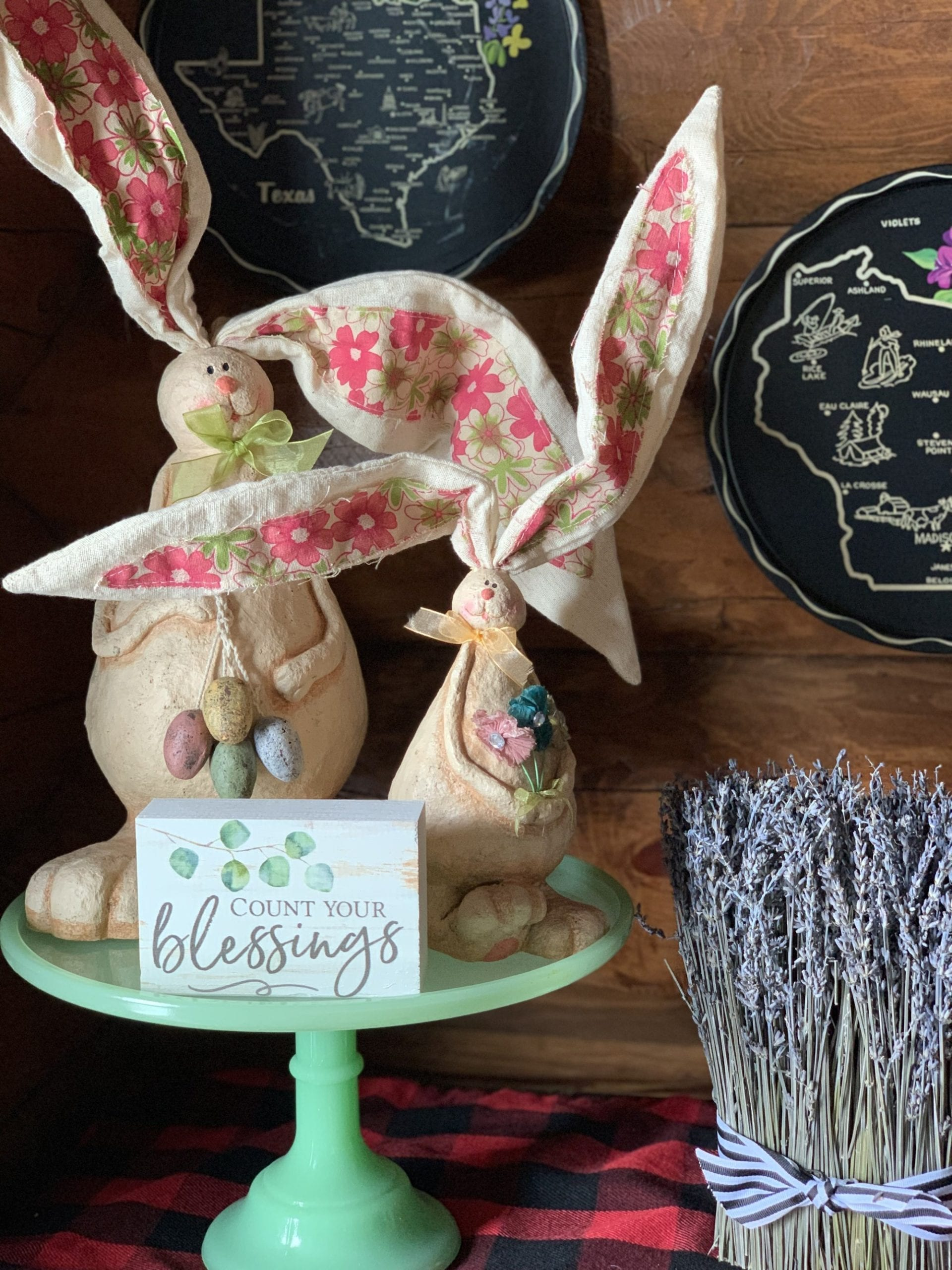 Hop Into Easter Bunny Decor