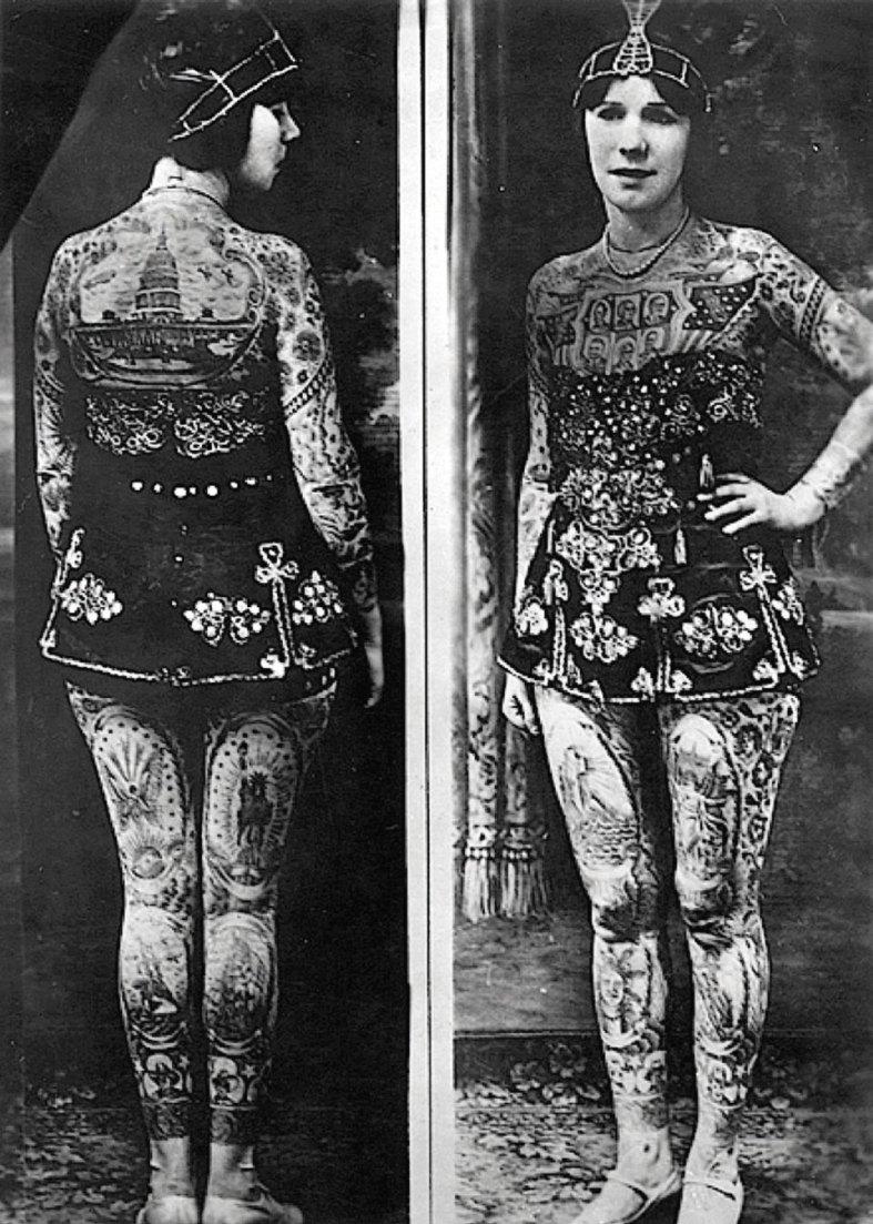 La Belle Irene Tattooed Lady
