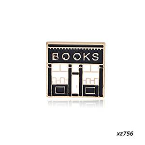 bookshop pin badge