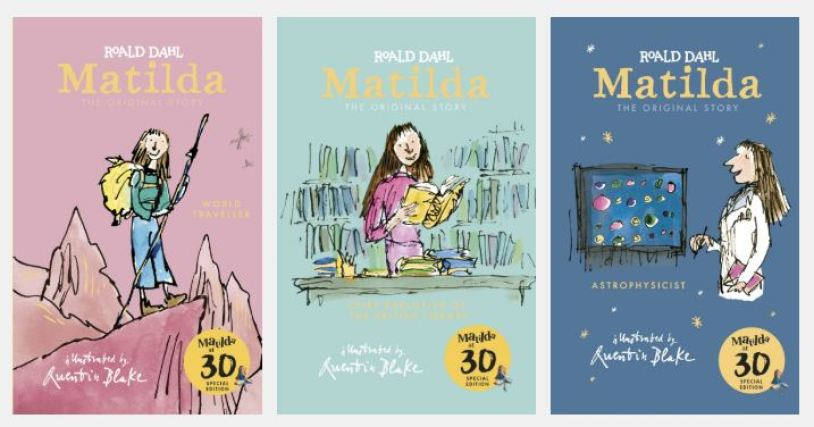 matilda 30th anniversary books