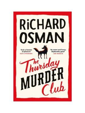 Thursday Murder Club by Richard Osman book cover