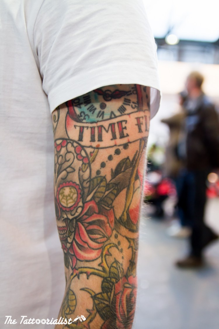 Erik is a man I have meet during the International Brussels Tattoo Convention in 2012, his tattoos will inspire you. It's a very good ideas of tattoos for men