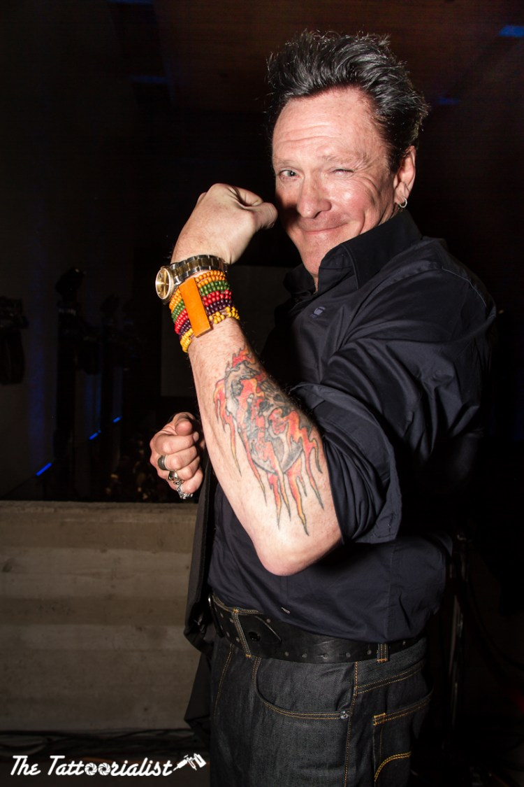 Michael Madsen G-Star Raw ©TheTattoorialist