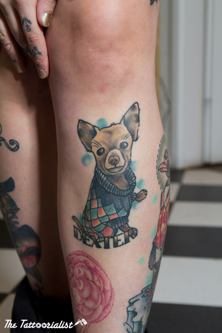 Hannah Degraves from AKA Berlin tattoo parlor @TheTattoorialist
