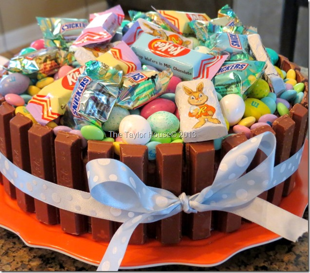 Easter Basket Kit Kat Cake Recipe Tutorial