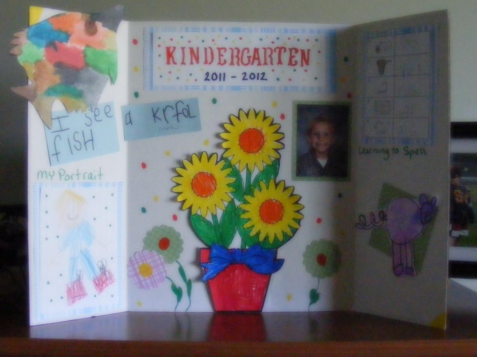 kindergarten display board