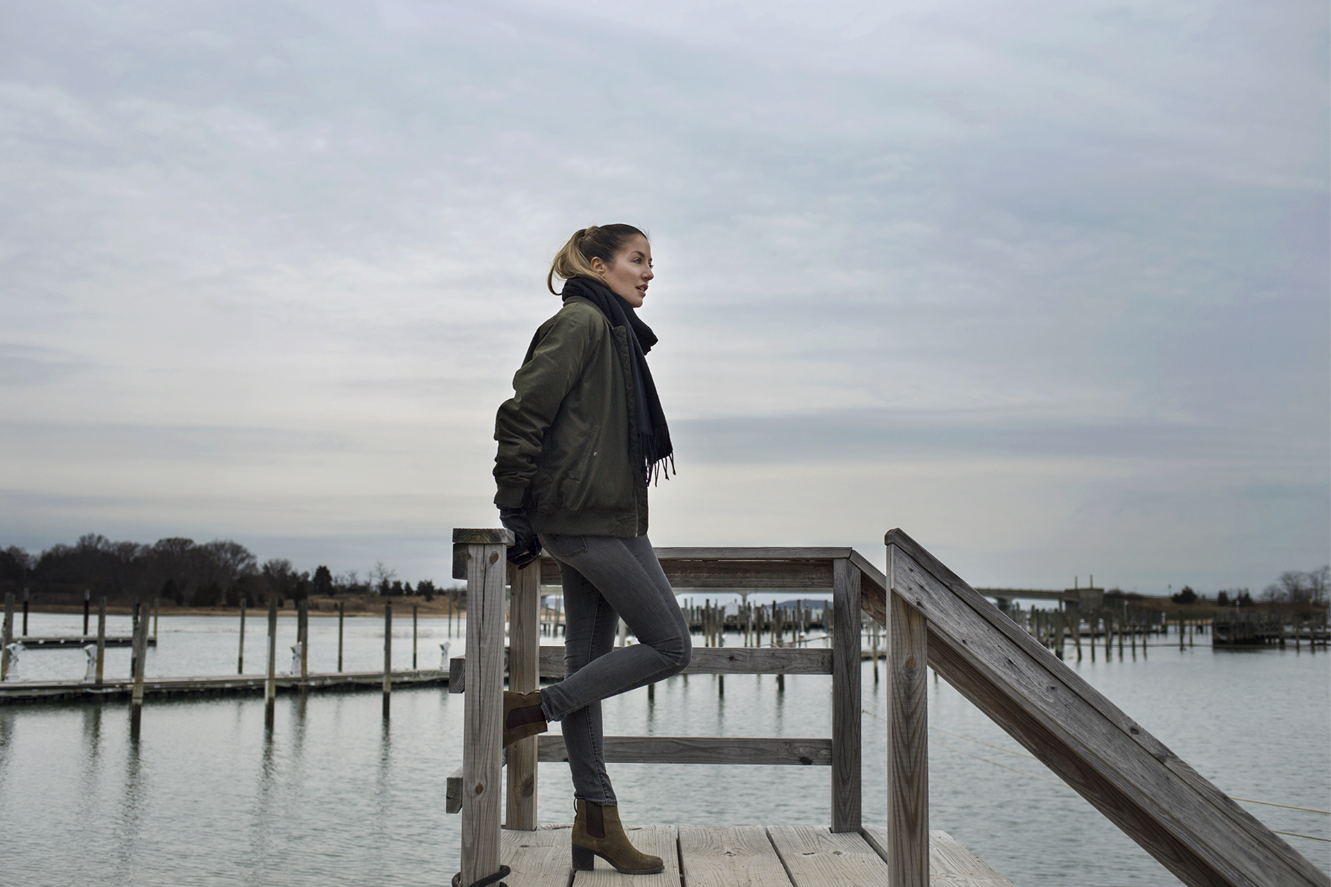 Winter style in the Hamptons at Sag Harbor