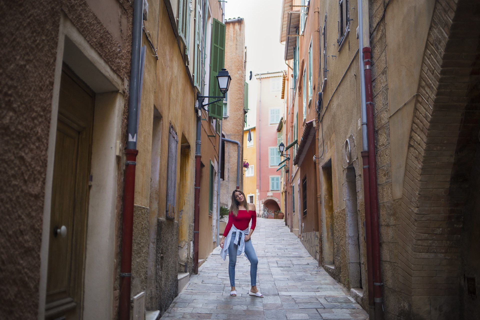 Explore the streets of old fishing village Villefranche-sur-mer
