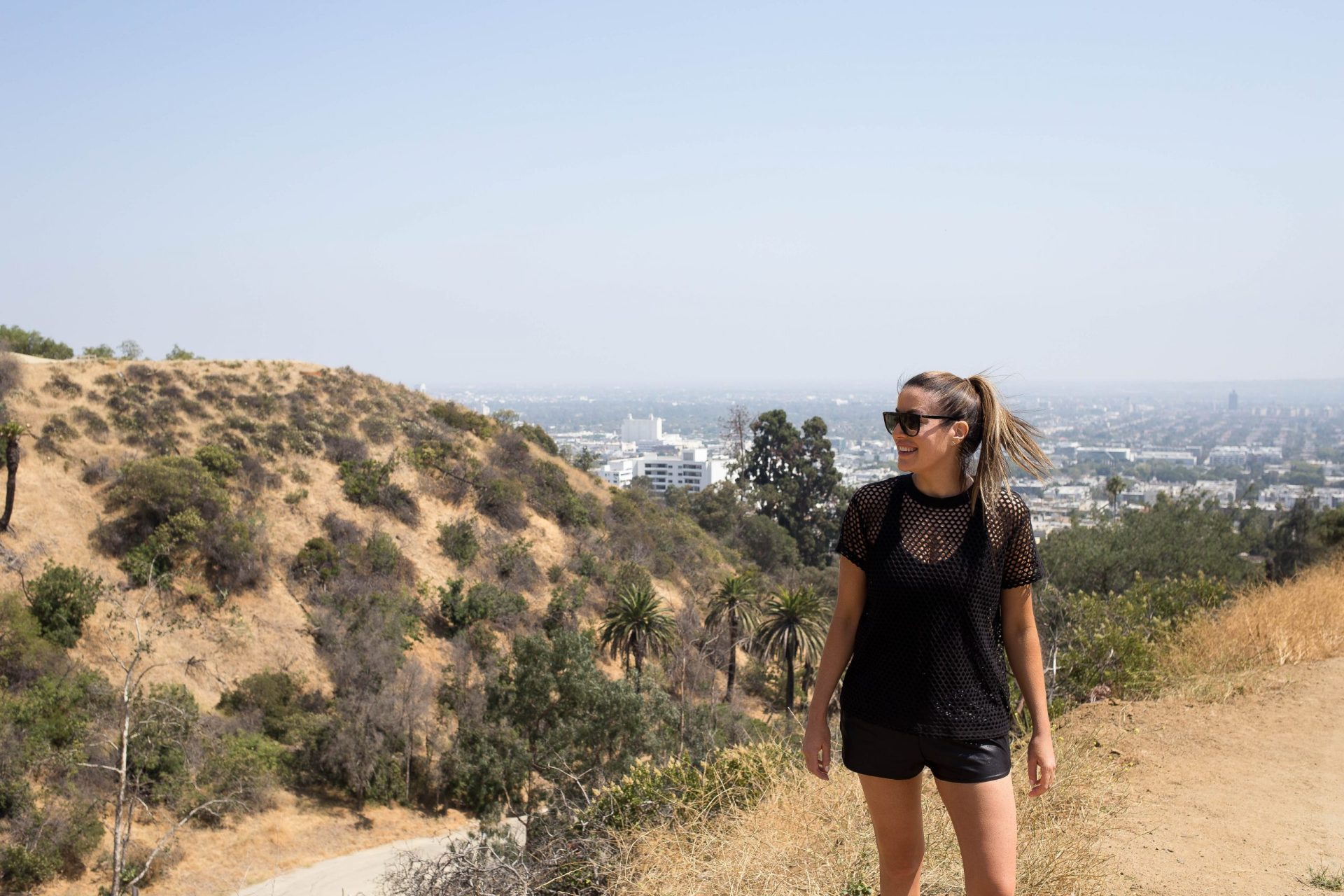 Runyon Canyon tourist attraction