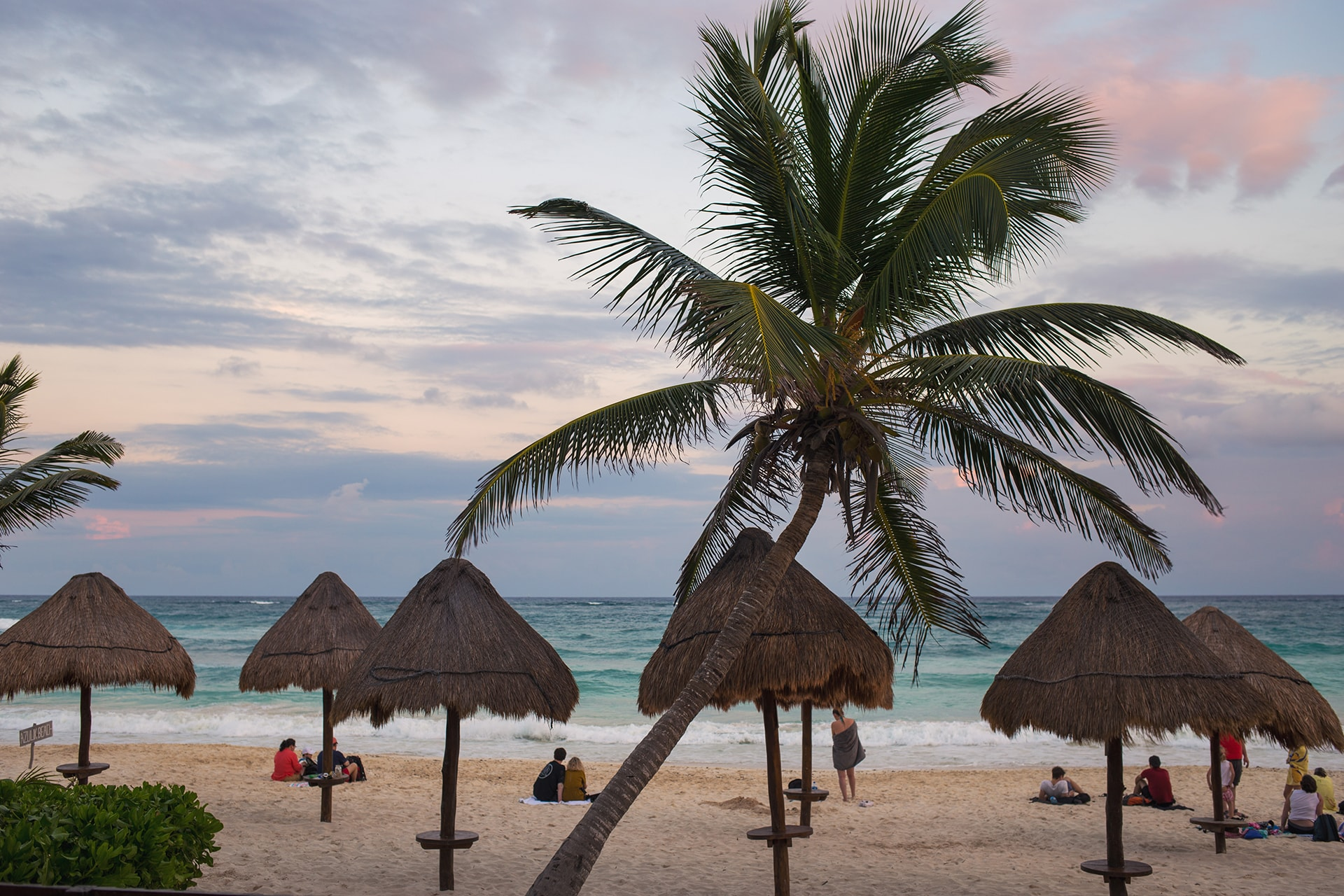 Tulum beach hotels, Mexico