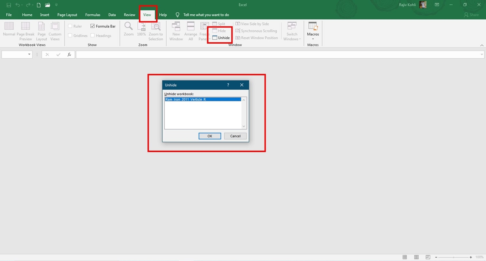 Missing Sheet Tabs In Microsoft Excel