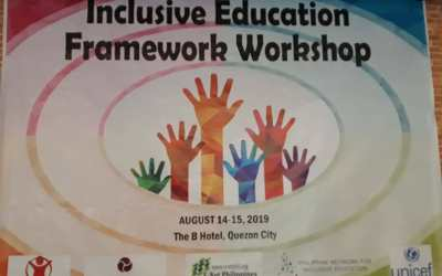 Inclusive Education Framework Workshop