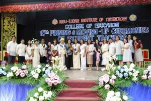 Pinning ceremony at MSU-IIT