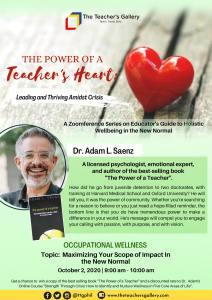 Occupational Wellness Poster