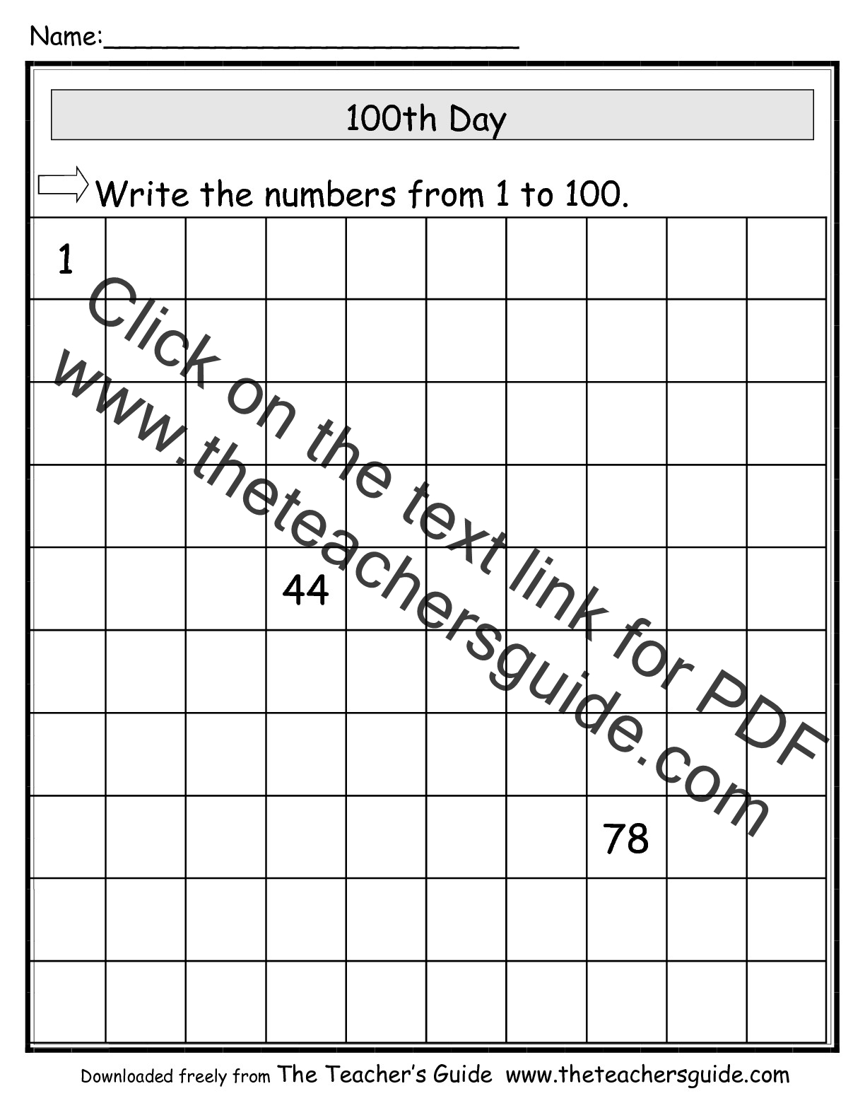 Missing Number Worksheet New 827 Missing Number Worksheet To 100