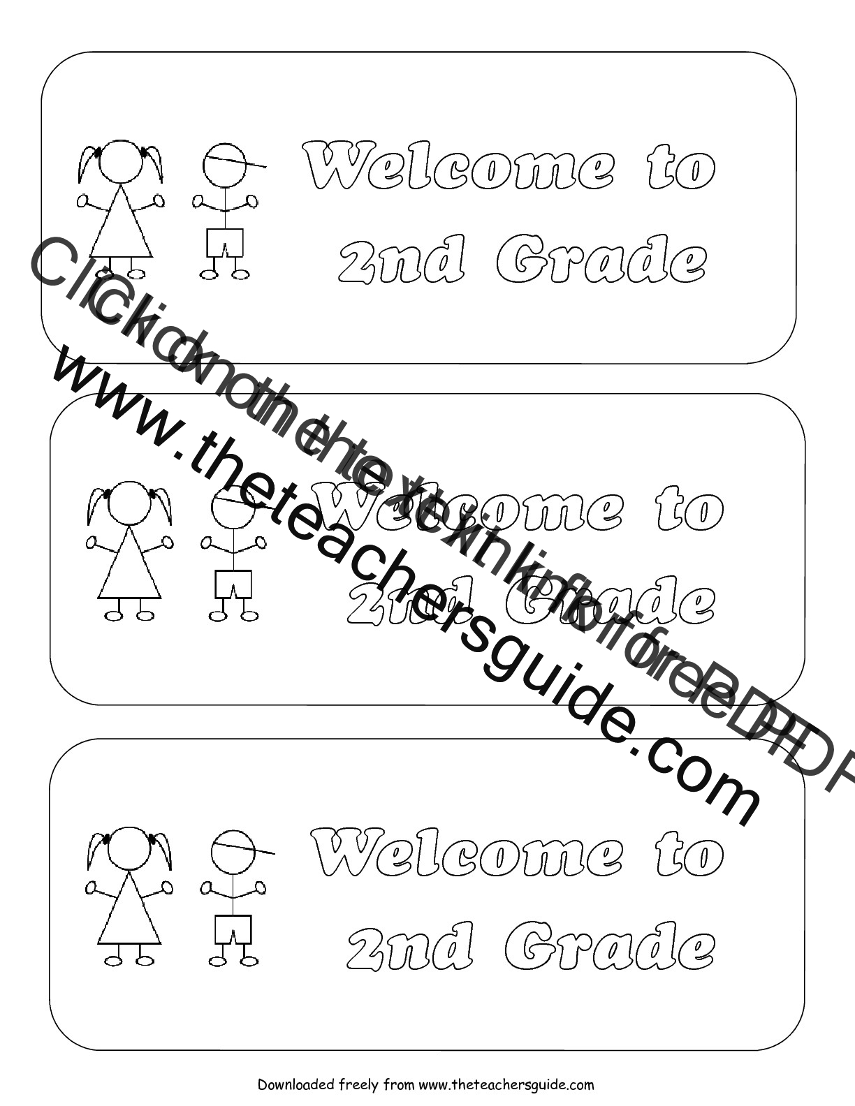 Back To School Worksheets For Second Graders