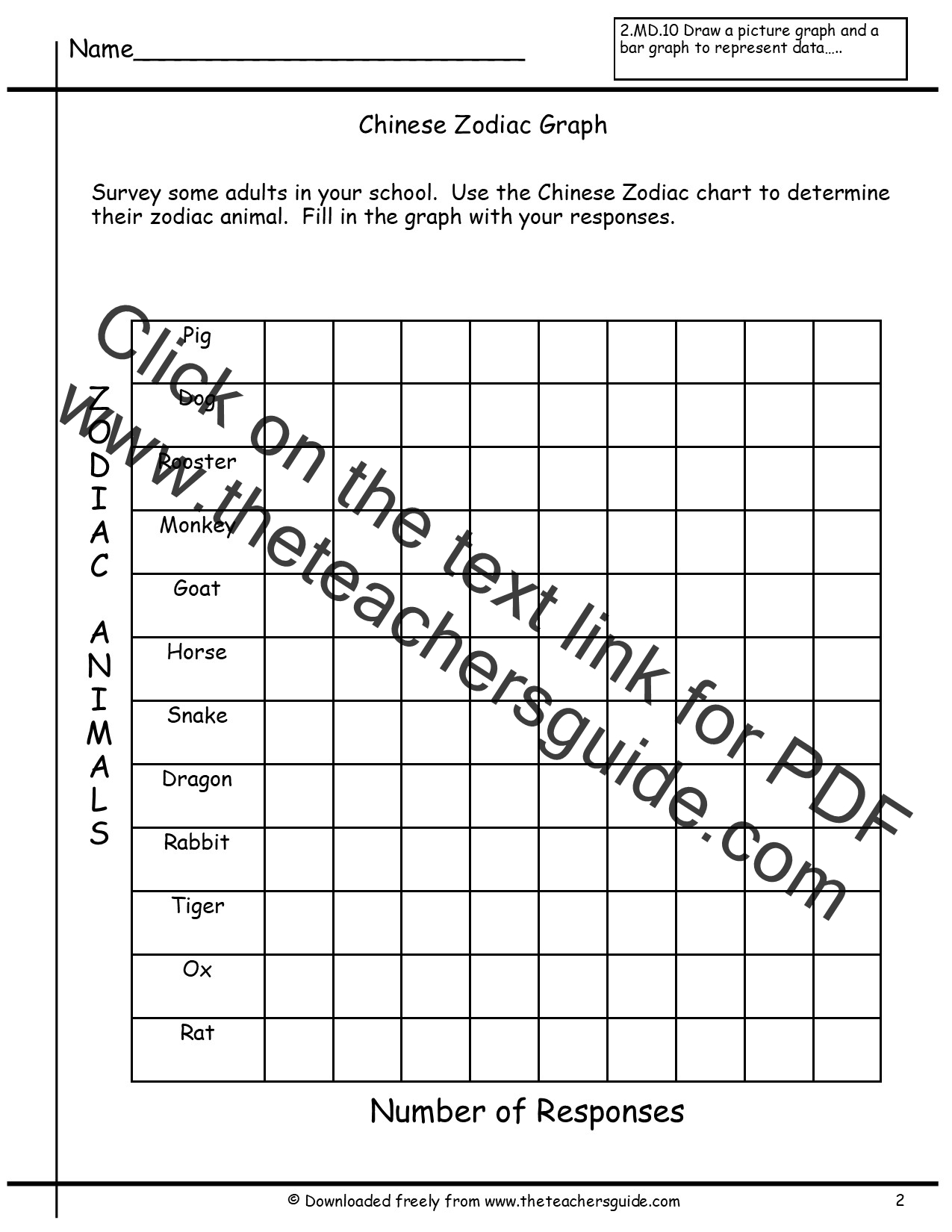 Graphing Scientific Data Worksheet