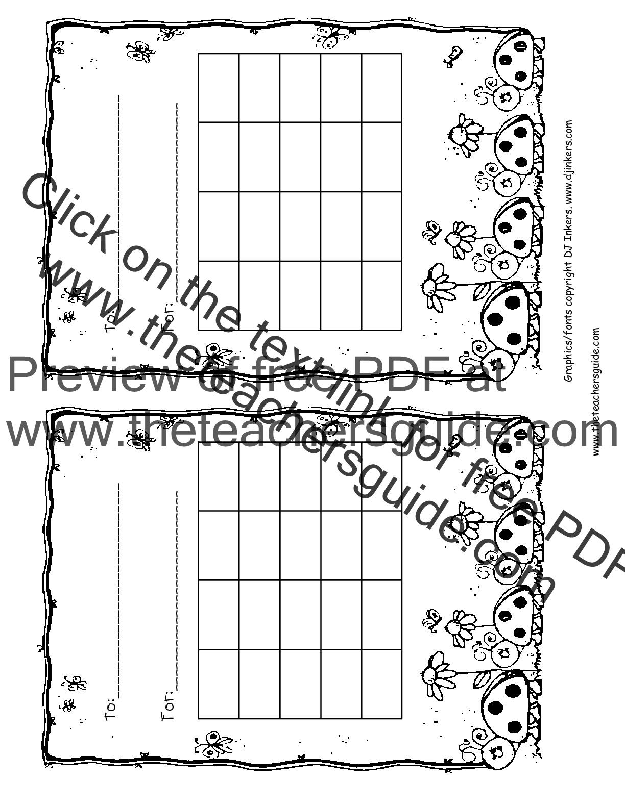 Free Printable Reward Charts For Kindergarten