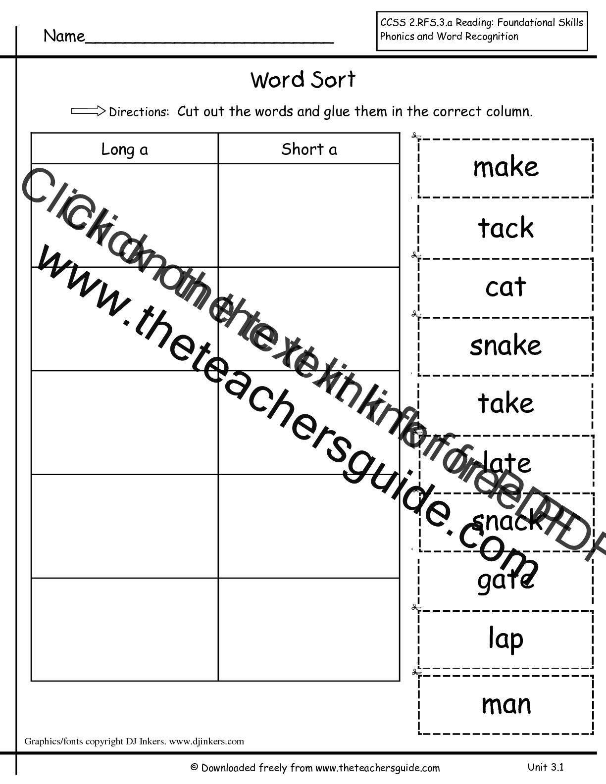 Worksheet First Grade Spelling Worksheets Worksheet Fun