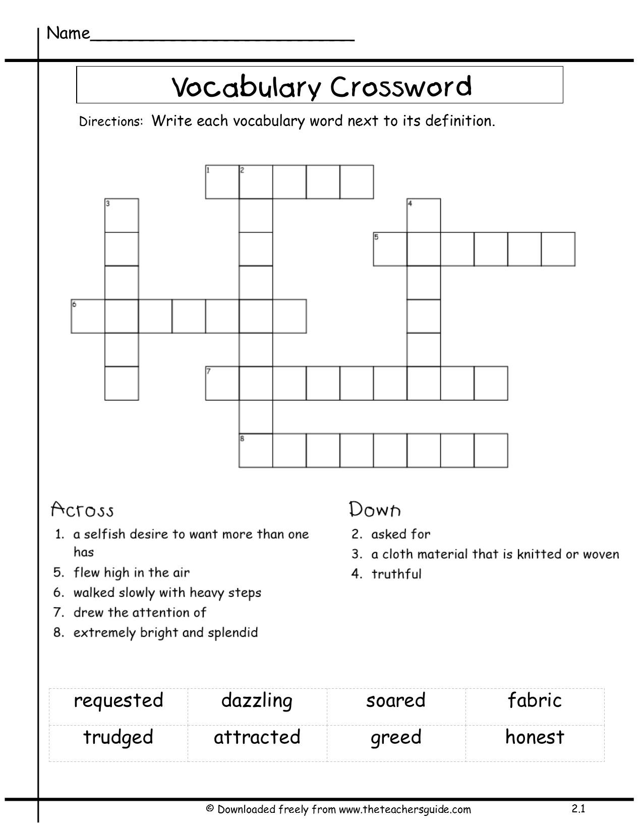 Wonders Fourth Grade Unit Two Week One Printouts