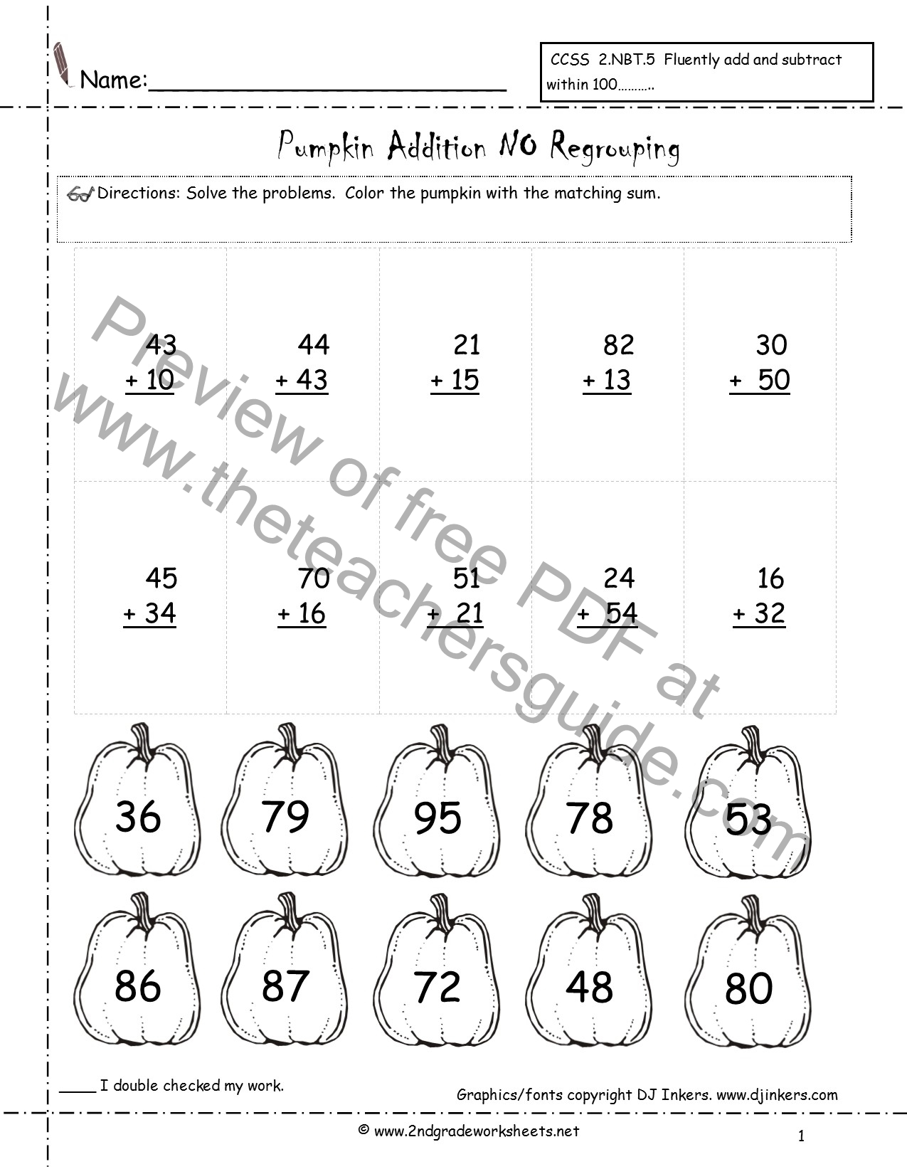 3 Digit Addition Worksheets With And Without Regrouping