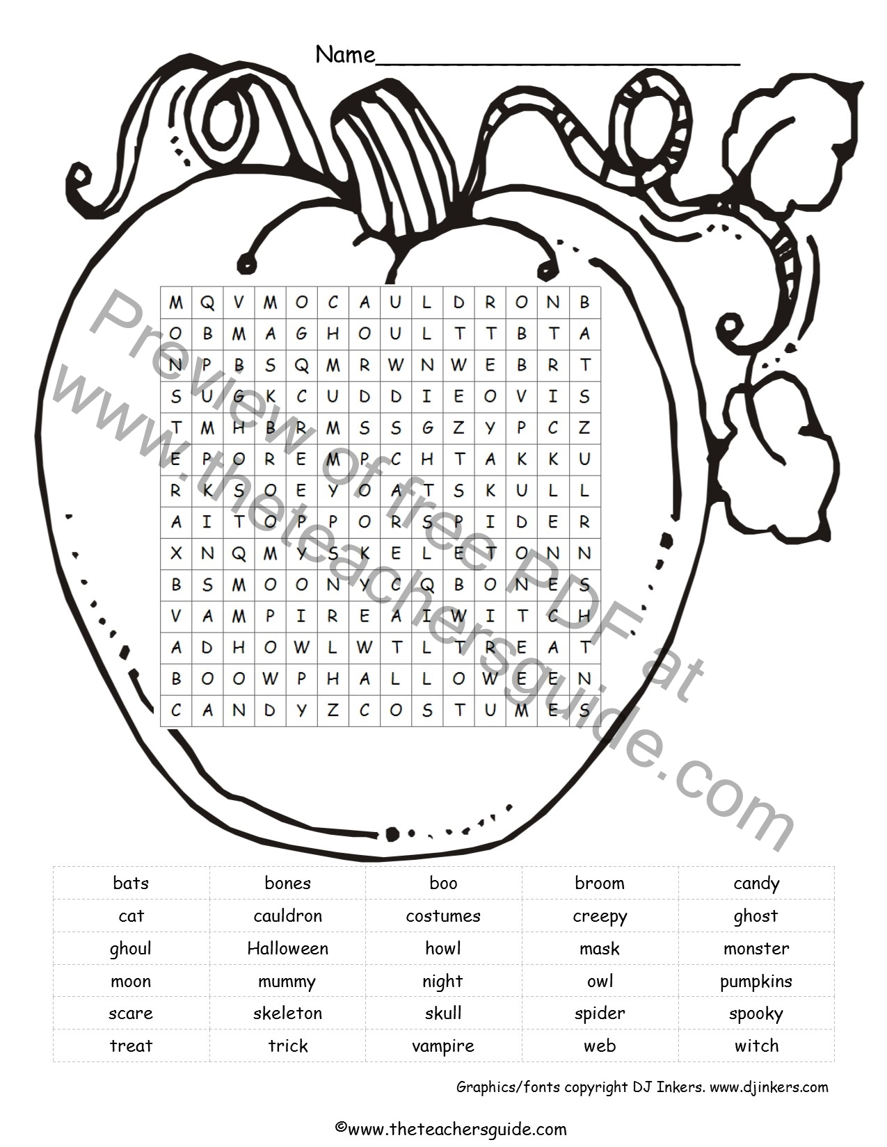 Pumpkins Lesson Plans Themes Printouts Crafts And Clipart