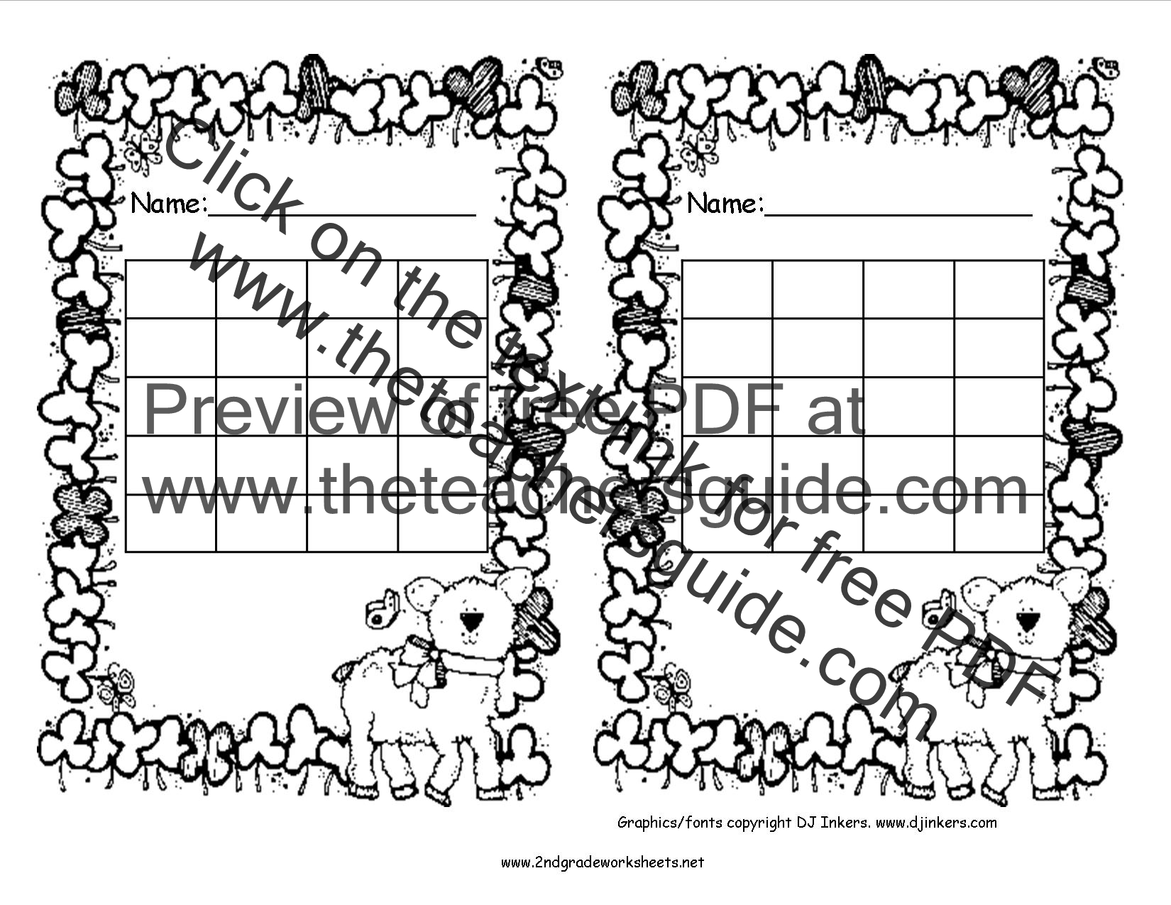 St Patrick S Day Printouts From The Teacher S Guide