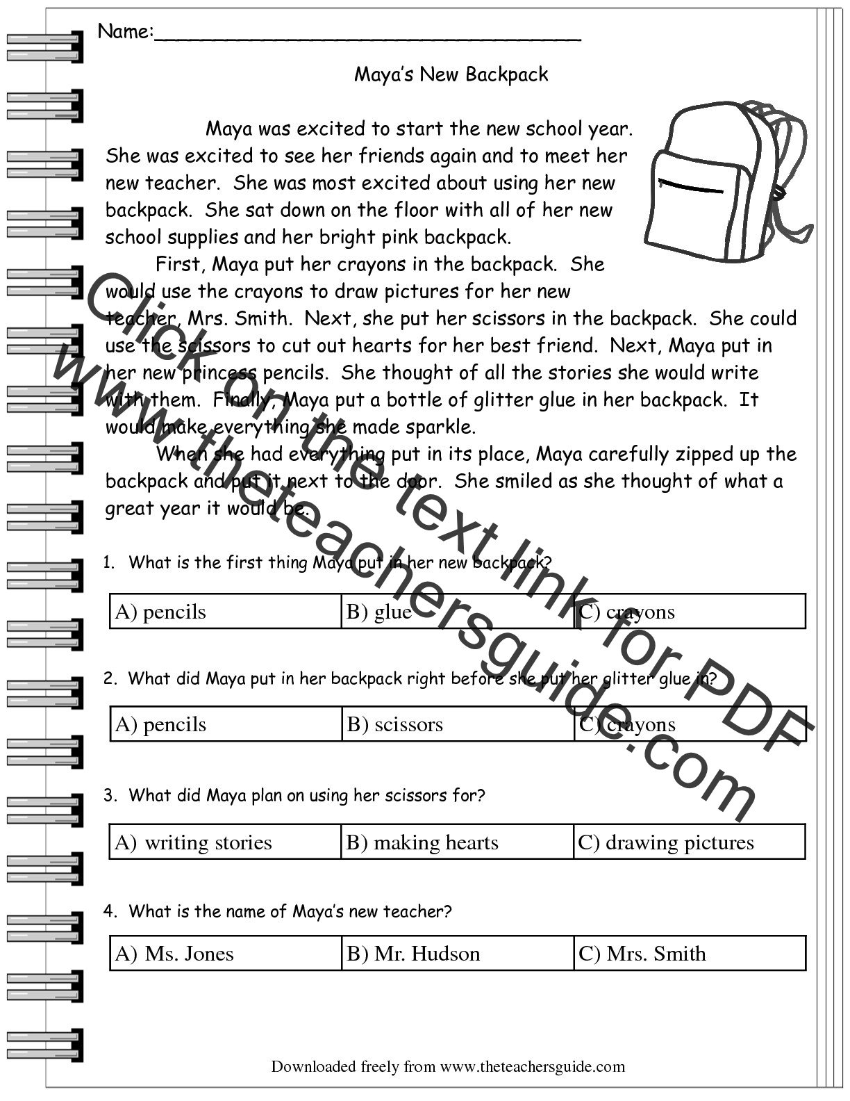 worksheet Third Grade Comprehension Worksheets Free reading comprehension worksheets 3rd grade free re d g w ksheet ksheets libr ry downlo nd pr t