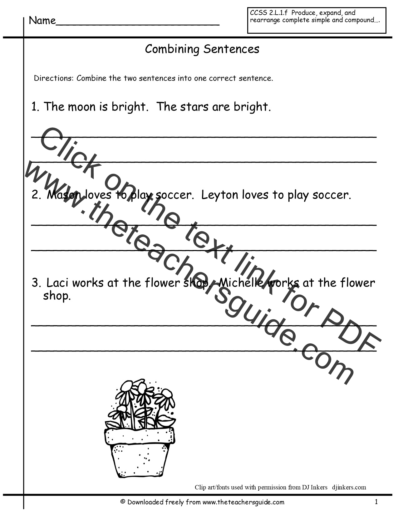 Worksheets Correct Sentences Worksheet