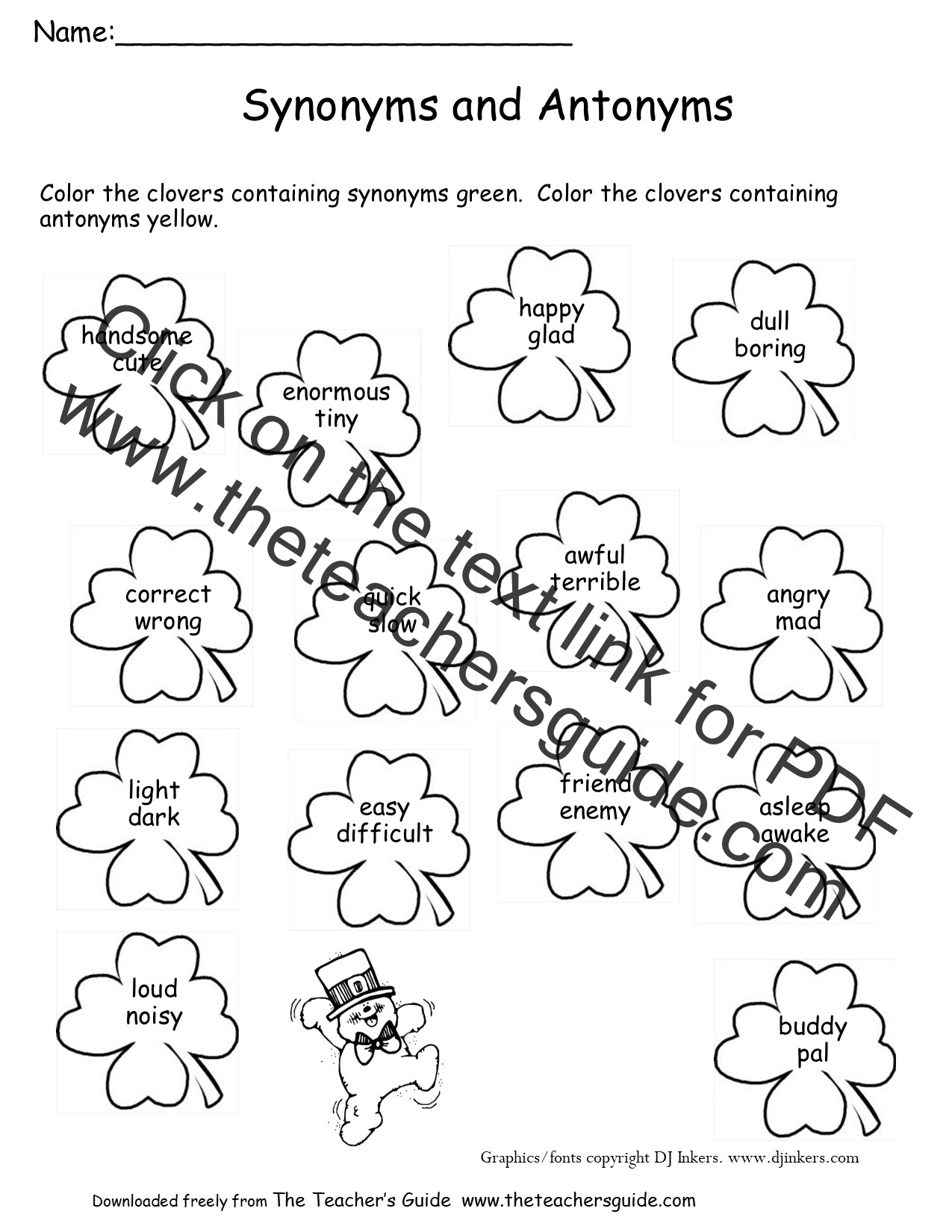 Valentine Subtraction Worksheet