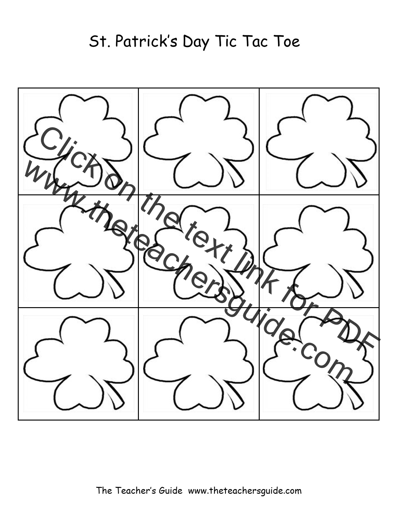 St Patrick S Day Lesson Plans Themes Printouts Crafts