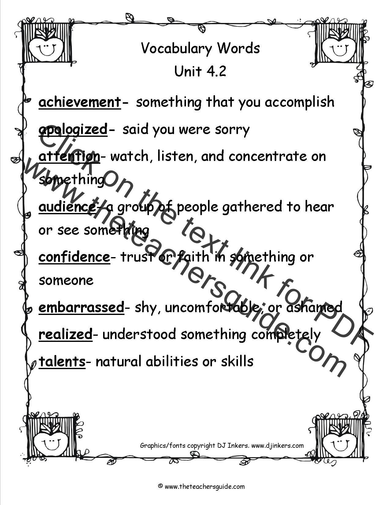 Inspired Educators Inc Worksheet Answers Inspired