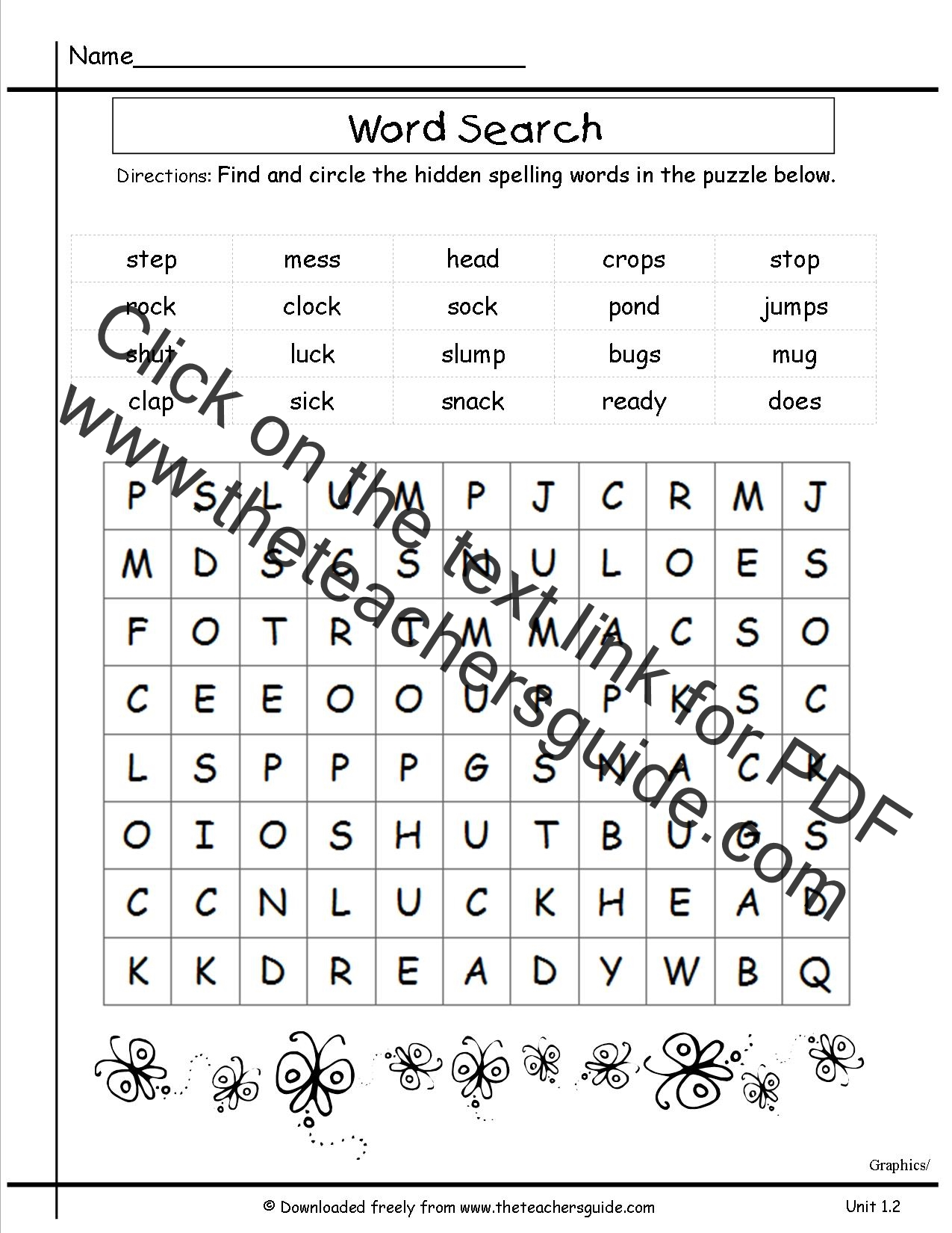 Fun Spelling Worksheets 3rd Grade