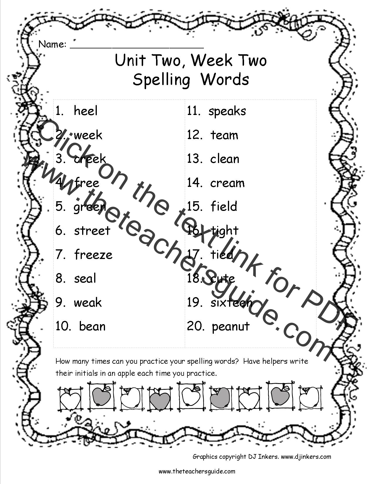Wonders Third Grade Unit Two Week Two Printouts