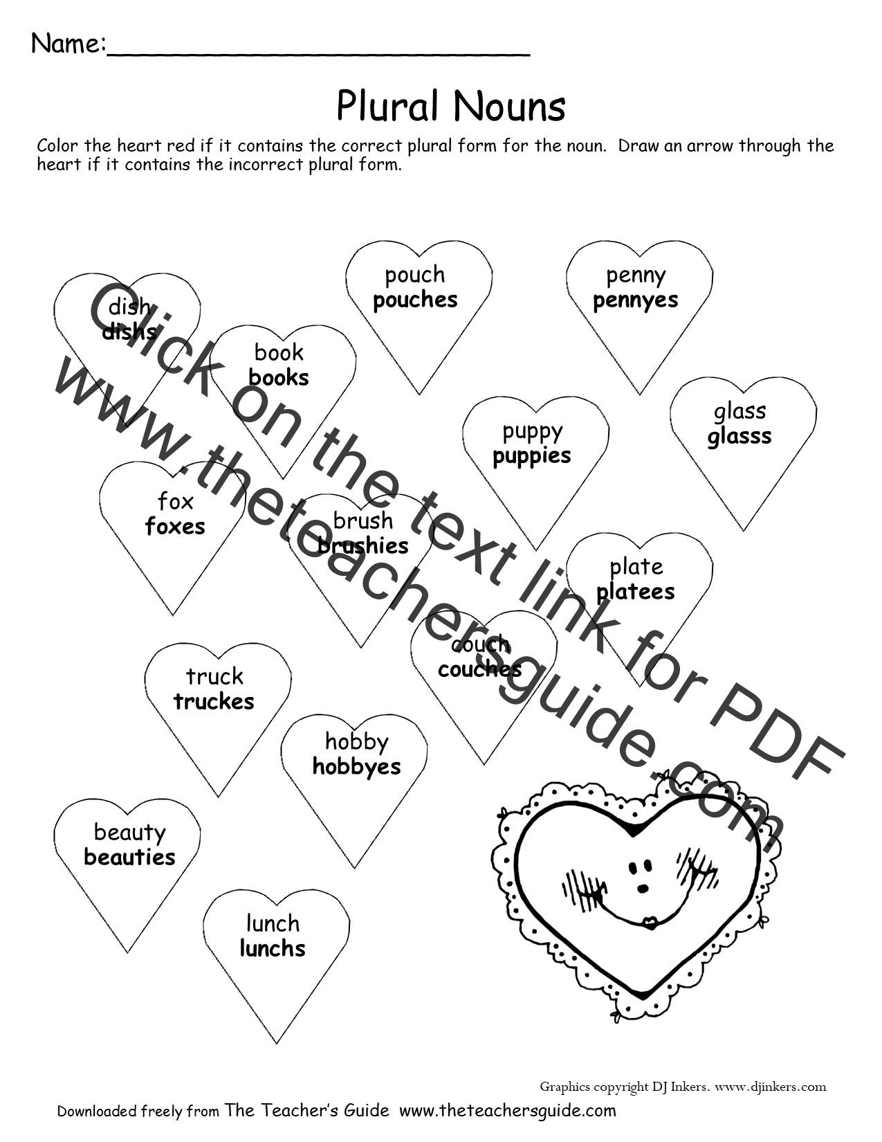 Valentine Adding Worksheet S
