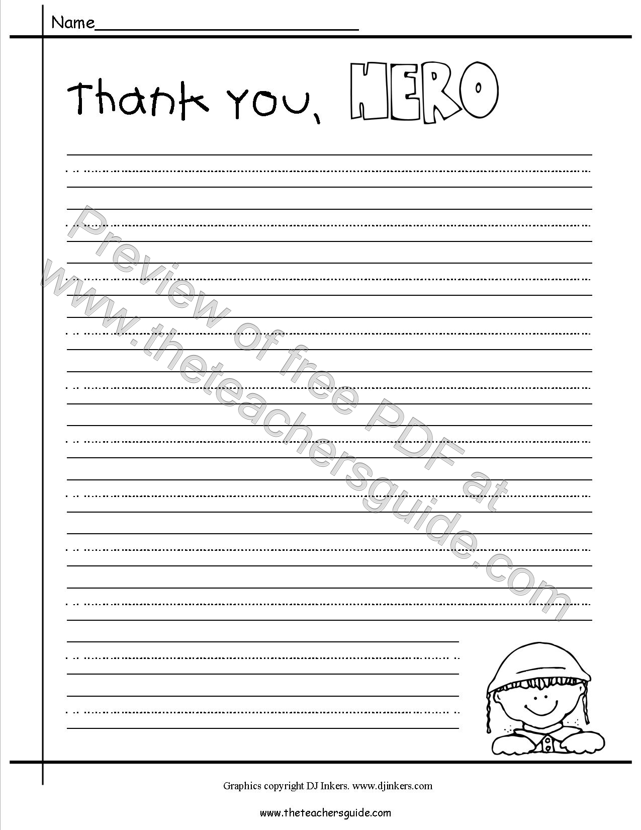search results for letter writing templates for soldiers