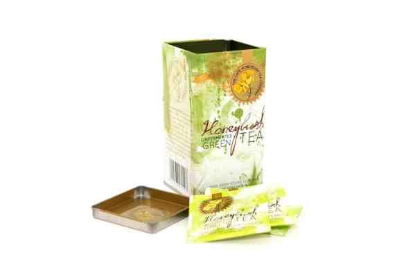 Cape Honeybush Tea Company - Green Honeybush square tin 2