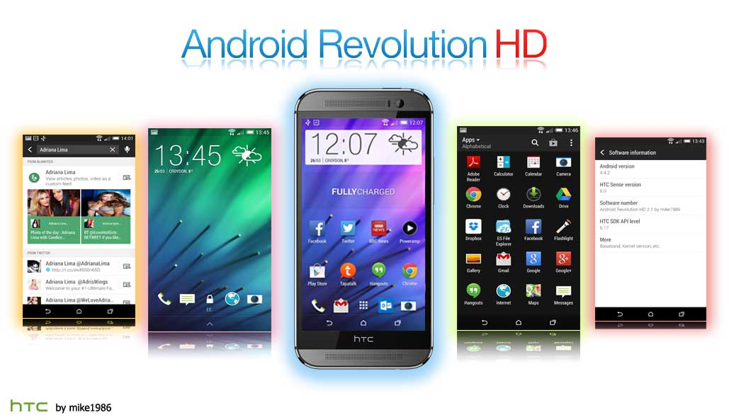 Android Revolution ROM for One M8