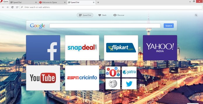 Opera-updated browser