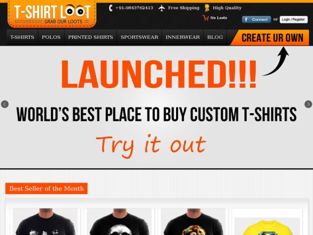 tshirtloot.com-customized-printing