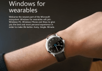 Microsoft-Wearable-windows smartwatch