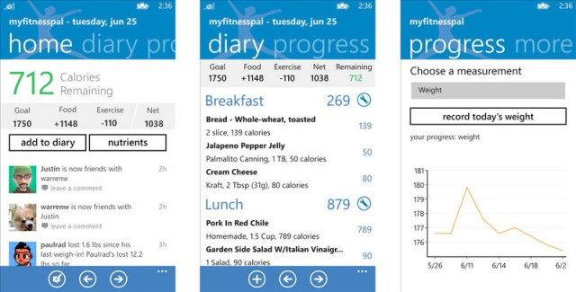 MyFitnessPal-for-Windows-Phone-8