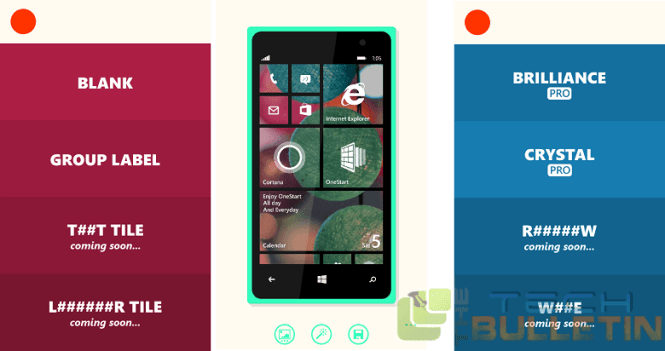 onestart app for Windows Phone 8.1