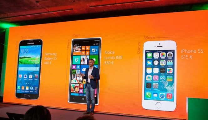 Lumia 830 launch event