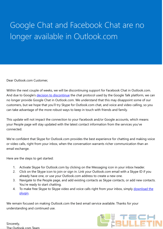 Oulook.com email