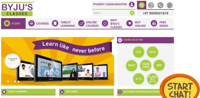 Byjus Classes - Main Banner