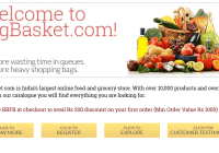 BigBasket secures $50 million funds from Bessemer Venture Partners yesterday. Bengaluru based BigBasket aims $1 billion valuation in coming months.