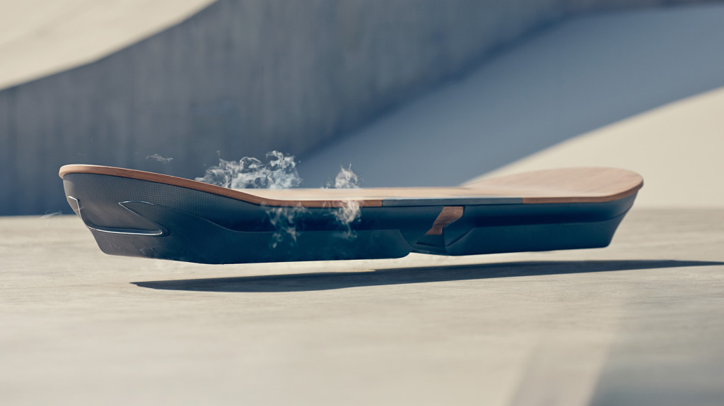 cryogenic links of the week - Lexus liquid nitrogen fueled hoverboard