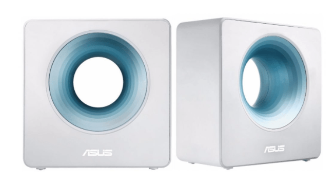 Asus' Blue Cave Router Has a Huge Hole In It